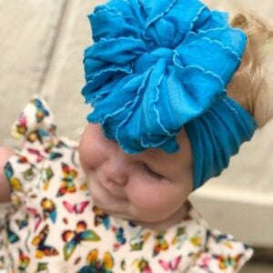 Hibiscus Messy Bow Headwrap