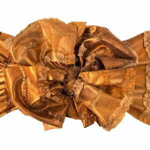 Jingle Bells Messy Bow Headwrap