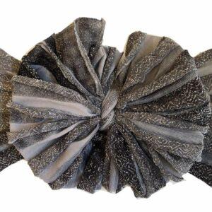 Tinsletown Ruffle Messy Bow Headwrap