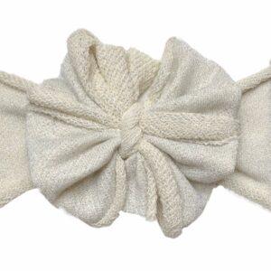 Winter Wonderland Messy Bow Headwrap