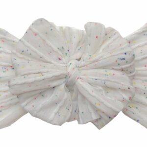 Confetti Messy Bow Headwrap