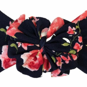 Floral Crush Messy Bow Headwrap