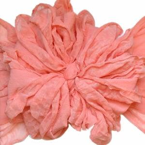 Apricot Messy Bow Headwrap