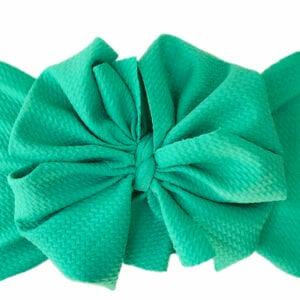 Seafoam Messy Bow Headwrap