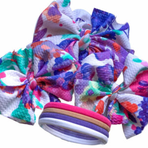 Spring Fling Messy Bow Headwrap