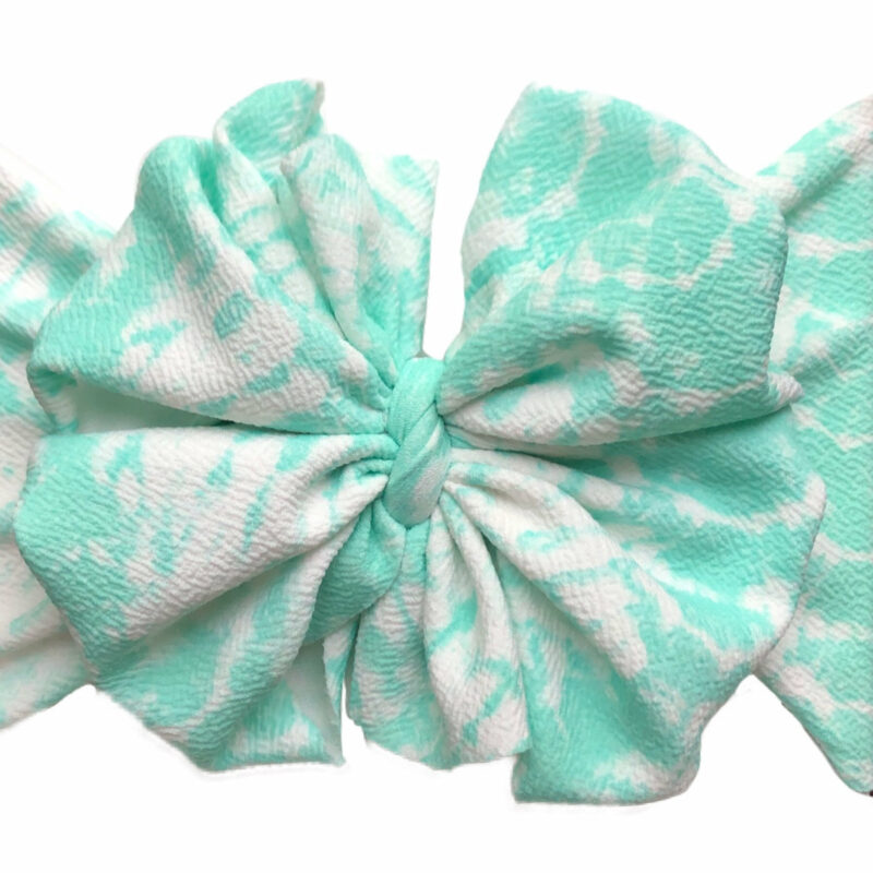 April Showers Messy Bow Headwrap