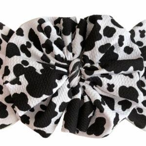Dairy Dreams Messy Bow Headwrap