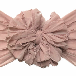 Ballet Pink Messy Bow Headwrap