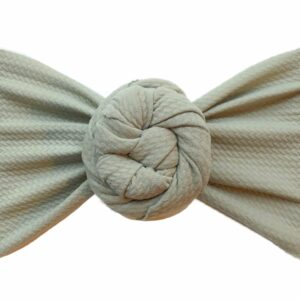 Sage Liverpool Messy Bow Headwrap