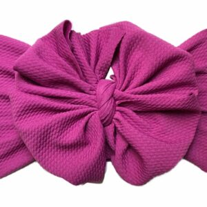Mulberry Messy Bow Headwrap