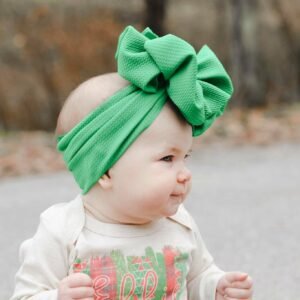 Missletoe Messy Bow Headwrap