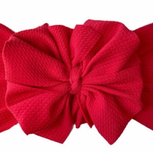 Holly Berry Messy Bow Headwrap