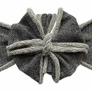 Granite Messy Bow Headwrap